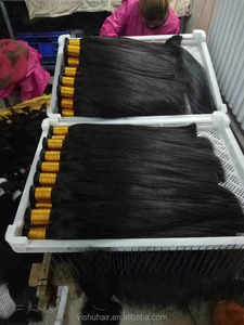 Wholesale factory sale hair bulk unprocessed hair smooth indian human luster hair bulk
