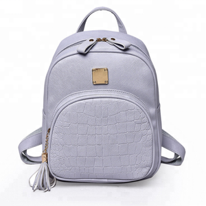 Wholesale casual school small backpack girls joker mini backpack leather