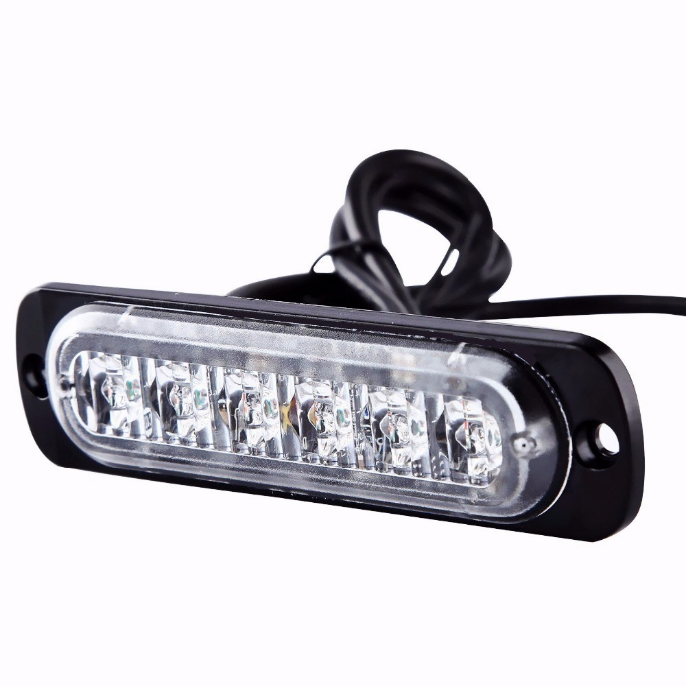 LED Ultra-delgada modelos de rejilla superficie montada luz 18 W mini advertencia luces de seguridad