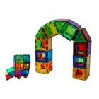 Magplayer STEM intelligence magnetic bloks magnet Tiles toy for above 3 years old kids
