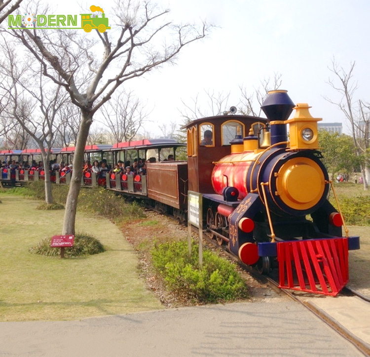 amusement kids hot sale fruit work track train for kids to ride