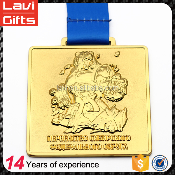 Cheap Custom Design Blank Sport Gold Metal Medallion Medal And Trophy Awards