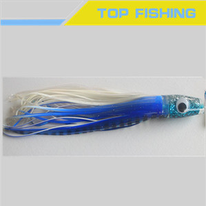 Silicon artificial octopus lure skirts lure fishing bait / octopus shape lure