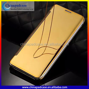 huge selection of a9bb3 aef57 100% Electroplated Flip Mirror Case For Samsung Galaxy S7 Edge/s7,Clear  View Touch Screen Mirror Case Cover For A510/a710 - Buy Electroplated Flip  ...
