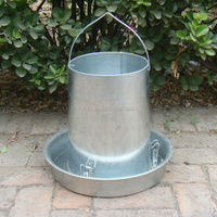 metal hanging feeder for chicken/duck feeder/metal poultry feeder