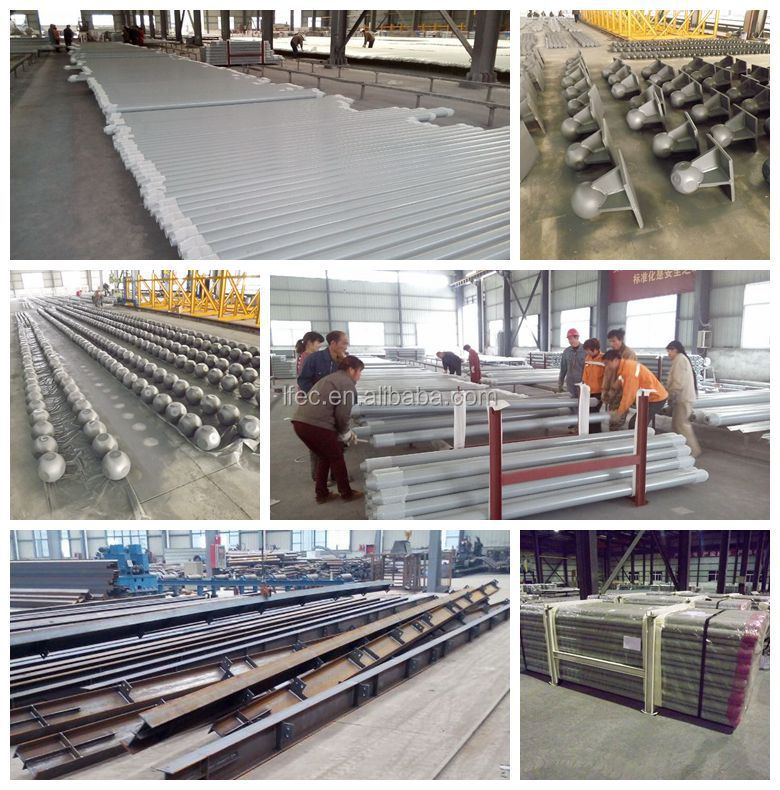 Professional Protal Frame Galvanized FRP Skylight Roof Steel Structure Workshop