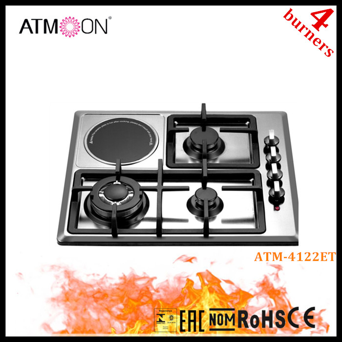 New Model Hotplate Electric Gas Stove Price With 4 Burner