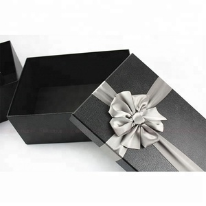 New style multi color bow tie gift packaging paper box
