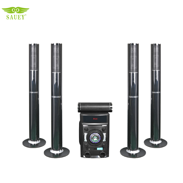 5.1 wireless speakers with surround home theater