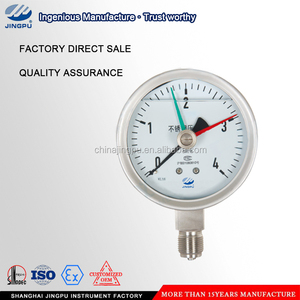 Red needles/memory pointer/double needle pressure gauge
