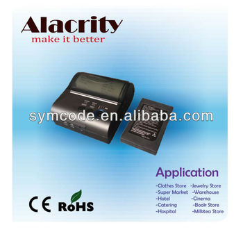 Low Power Consumption Barcode Scanner Thermal Printer