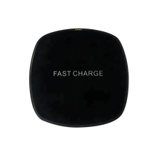 wholesale high quality desktop qi mobile phone wireless charger with customized logo