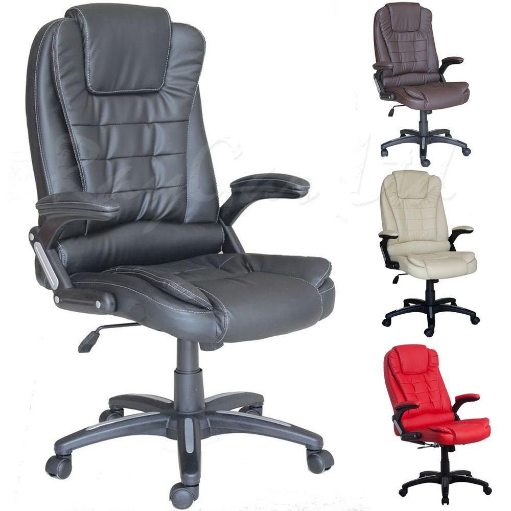 Reclining office chair design