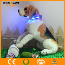 Factory supply hi vis led dog products colorful led dog collar