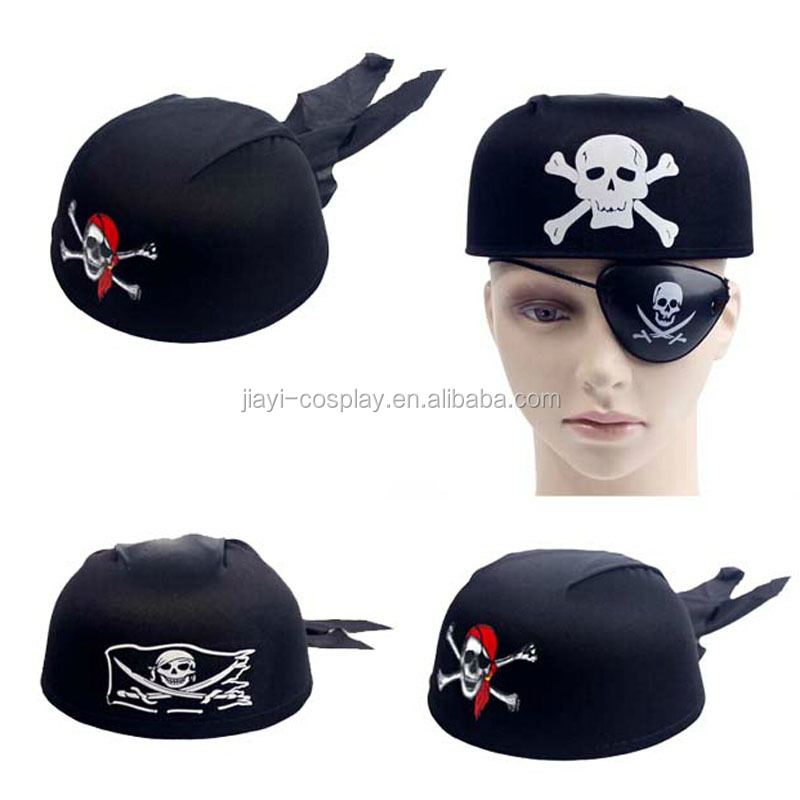 Round Cool Soft Felt Pirate Hat For Funny Party Hats Kids Hat Fedora