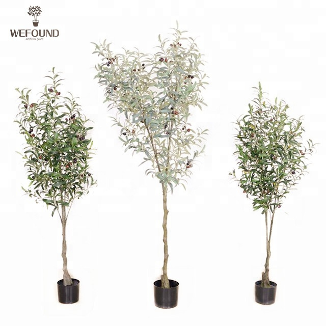WF-BS165 artificiale pianta bonsai di oliva albero