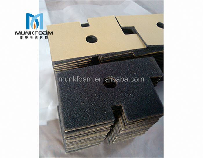 Facroty directly sell custom cut eva foam insert for gun case PU/PE/EVA/EPE foam insert good price free sample