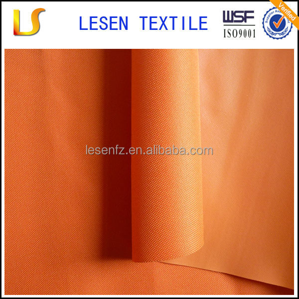 Lesen textile pvc coated polyester oxford fabric d600 for tents