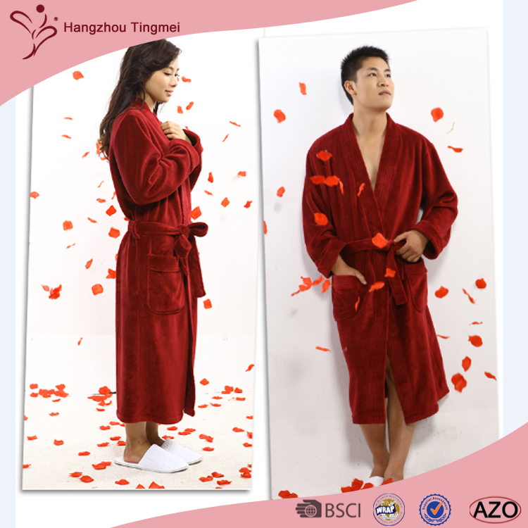 Super Zachte Hot Selling Coral Fleece Badjas