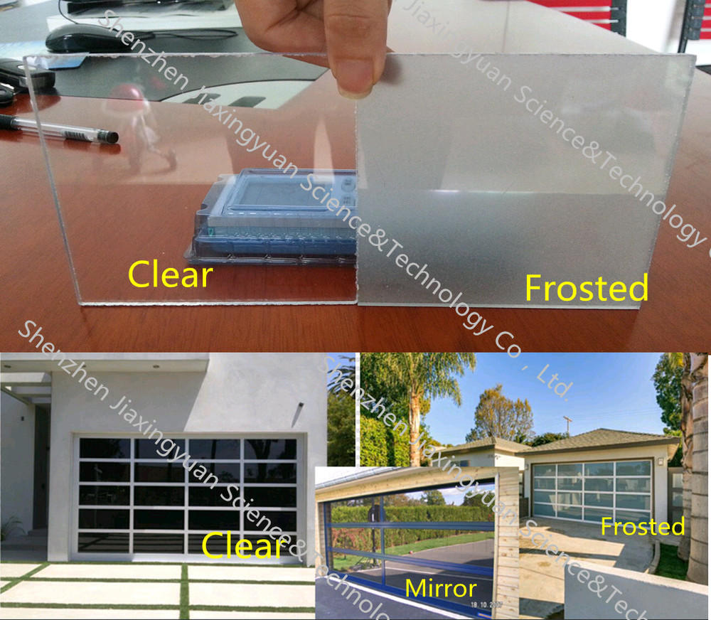 garage door pricingModern aluminum frame full view glass panel garage door prices