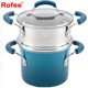 Multi Function Aluminum Nonstick Polished Kitchen Cookware