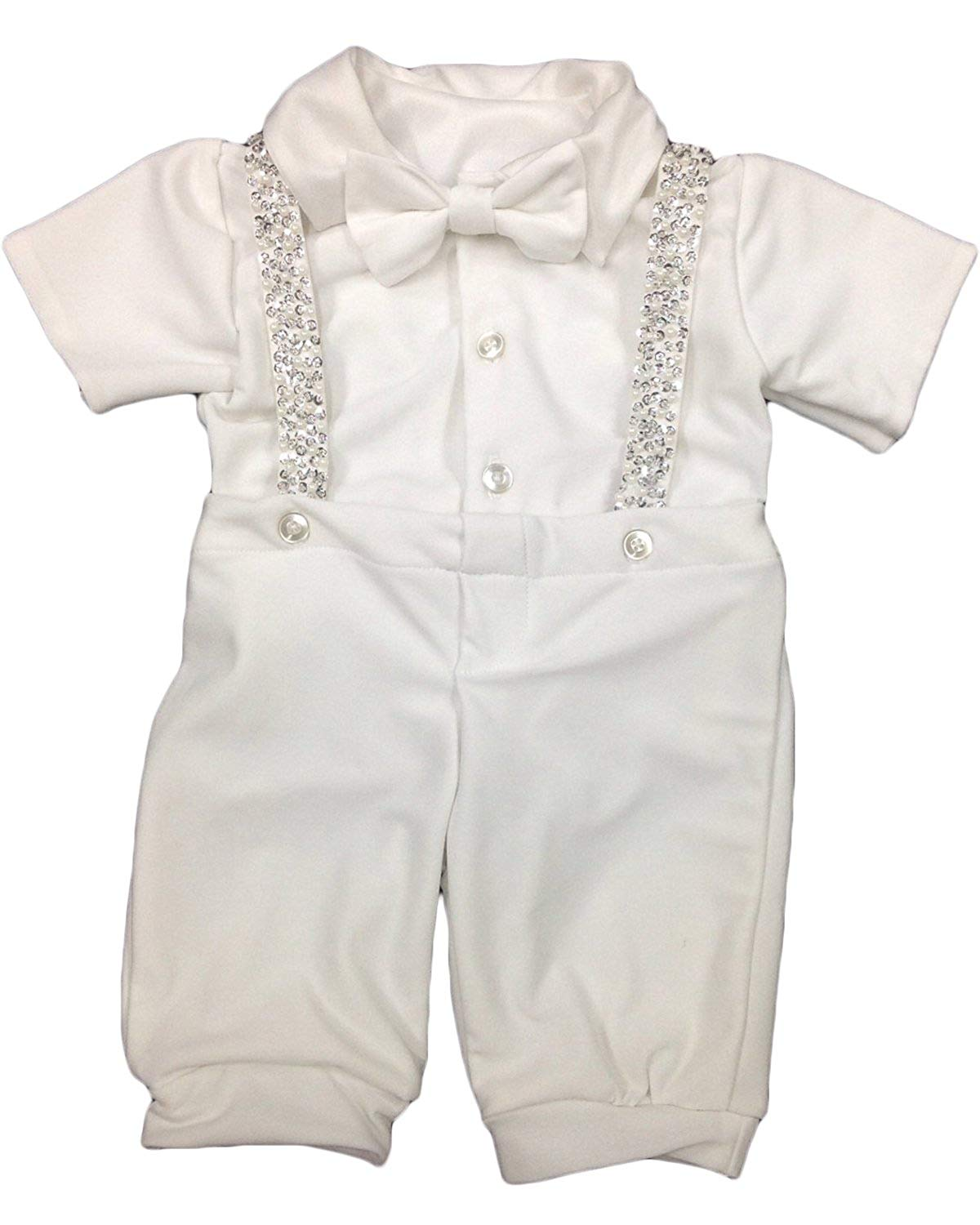 8376897c3 Get Quotations · Newdeve Baby-boys Christening Outfits Long Baptism Gowns  For Todder