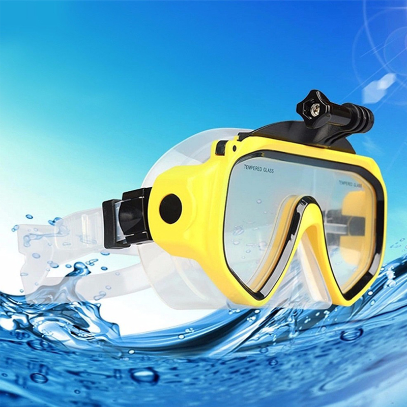 Free Shipping!!Diving Glasses Scuba Mask Mount Accessories For GoPro Hero 4 3