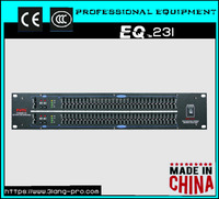 EQ-231 Dual 31-Band Professional Electronic Graphic Equalizer. Equivalent the dbx audio