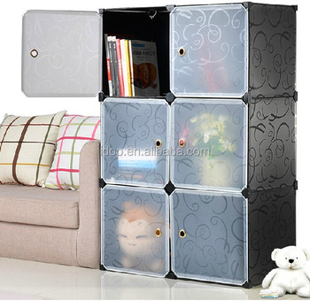 Lovely Closetmaid Kids Plastic Bookcase Wall Cabinet Cube Furniture