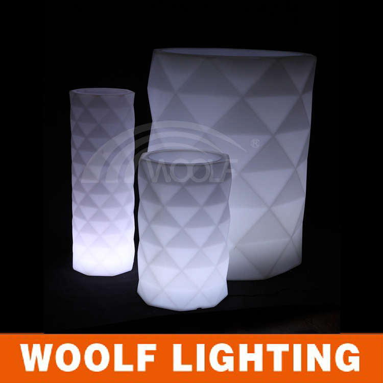 Cheap Waterproof Outdoor Glow LED Flower Pot
