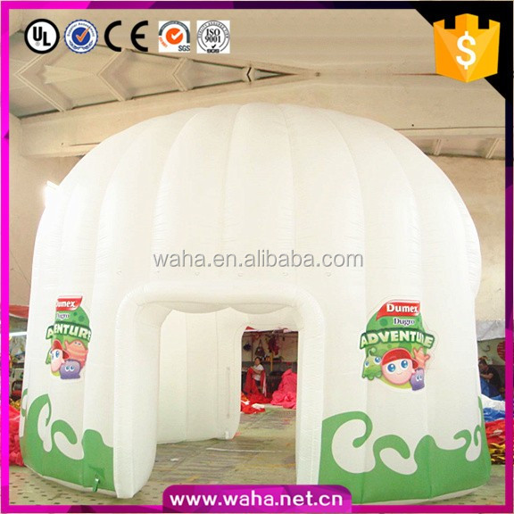 Custom make hot sale inflatable tennis dome tent for promotion