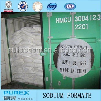 sodium formate for industrial use- deicing snow chemical for road