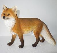 polyresin animal Walking fox figurine