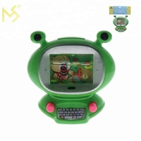 Frog computer funny water game machine hot sale toy for kids