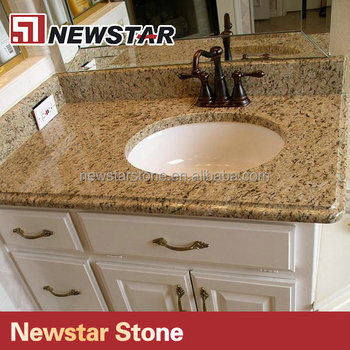 Newstar Giallo Cecilia Imported Stone Prefabricated Granite Countertop  Colors