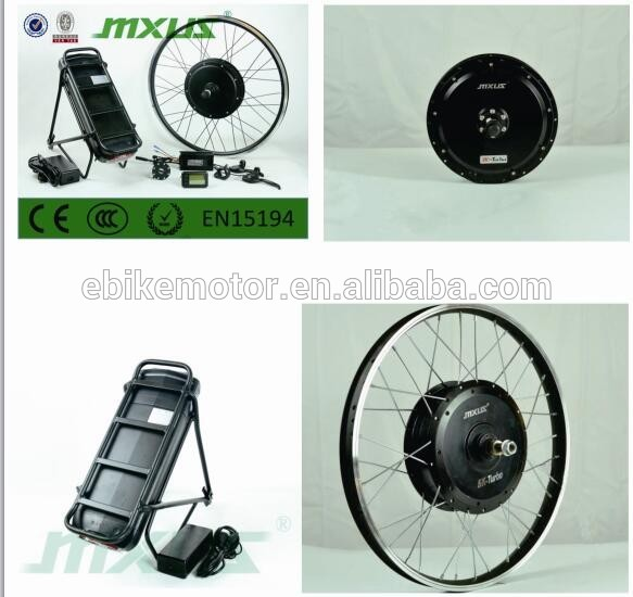 68KHz 48v 750w ebike conversion kit with led display over sink
