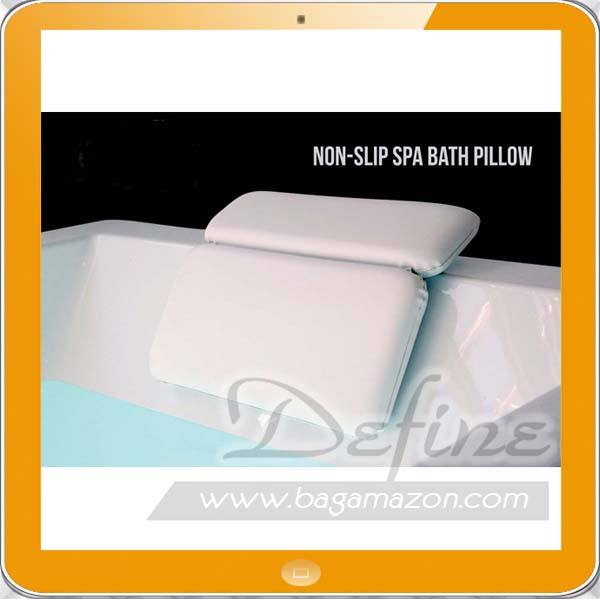 Luxury Comfortable Non-Slip Spa Bath Pillow