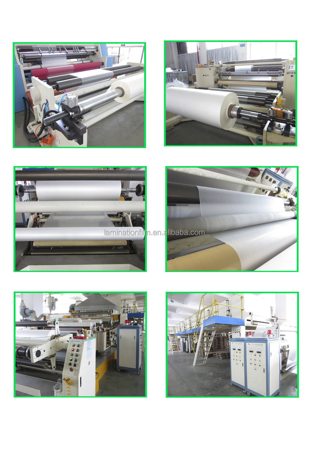 Plastic Laser Laminating Roll Films / Hologram Base Material Glue for Hot Stamping Foil