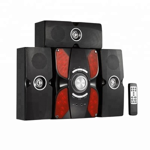3.1 Multimedia Tower Speaker With USB/SD/FM/2MIC Function. 80 Watt