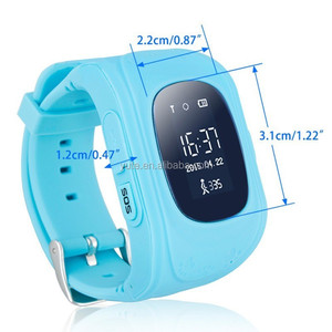 Manufactory Positioning SOS Alarm Remote Monitoring Smart Kids GPS Watch Q50
