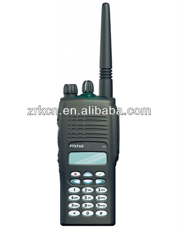VHF/UHFexplosion-proof walkie talkie PTX760 wireless walkie talkie system