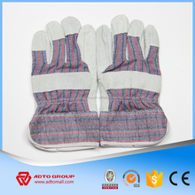pvc coated goat skin leather oil resistant working gloves importer in italy