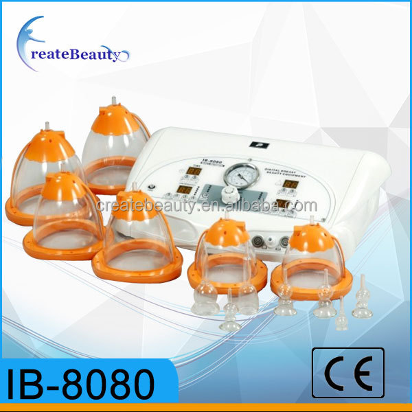 CE Approval vacuum suction ib-8080 Breast enhance for breast care