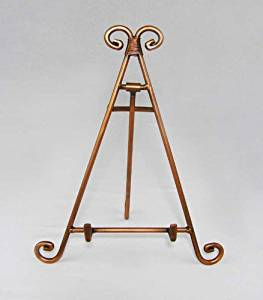 Easels, Decorative Easels from Easels by Amron, 7 Inches High (Copper)