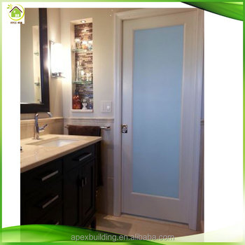 Plain Frosted Gl Door Laundry Room