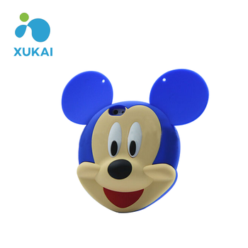 Cute Mickey Shape 3D Silicone Mobile Phone Case