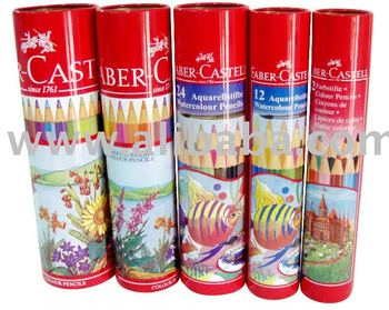 Colour Pencils Cans