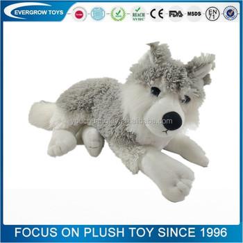 Plush Emoji Frog Pillows Toy Teddy Bear Plush Toy White Wolf Plush ...