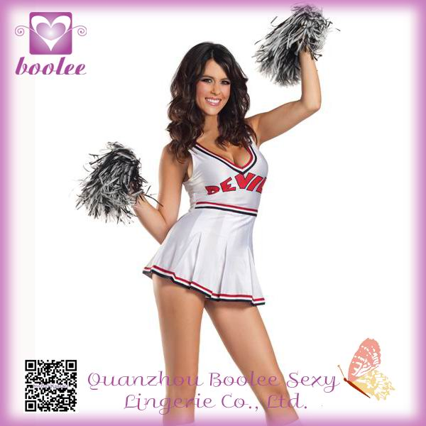 2014 Newest Hot Sale Varsity Cheerleader Costumes Women Fancy Dress Sport Costumes