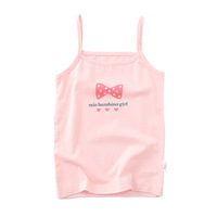 Cotton Girls Vest Colored Kids Camisole Children Tops Summer Baby Singlet Girls Undershirts Teenager Tank tops